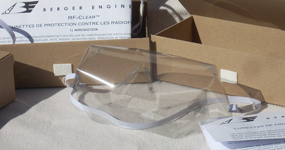 RF-Clear Protection Goggles